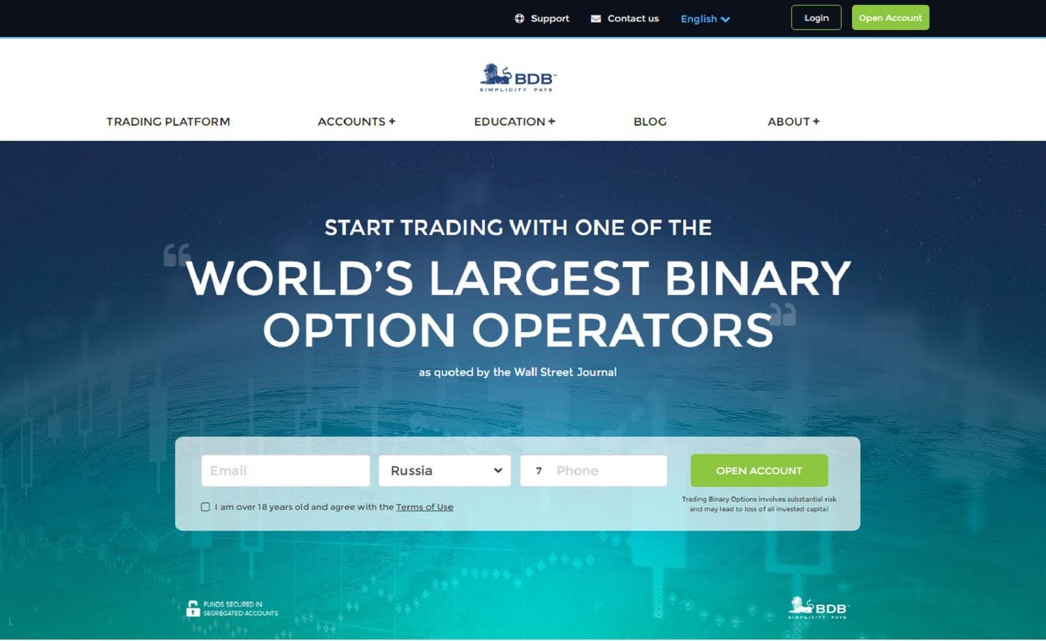 Opsi binary broker menerima neteller
